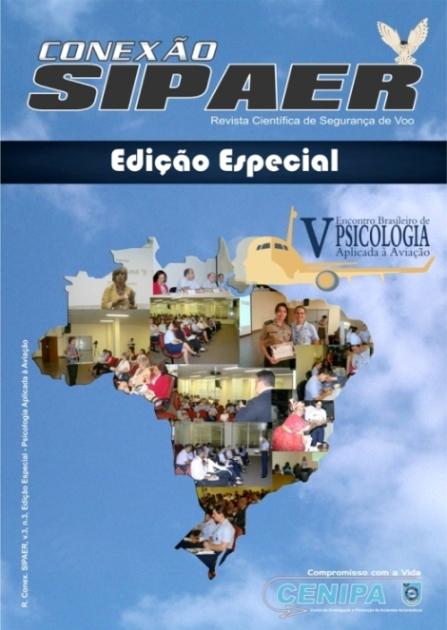 Capa - v.3, n.3 - Edição Especial - Psicologia Aplicada à Aviação
